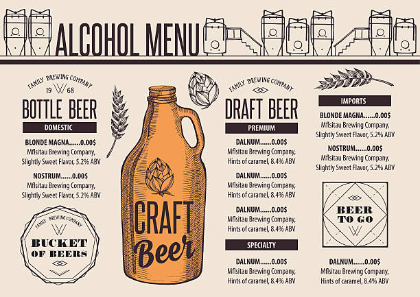 Best Beer Growler Illustrations, Royalty.