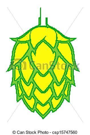 Beer hops clipart 2 » Clipart Portal.