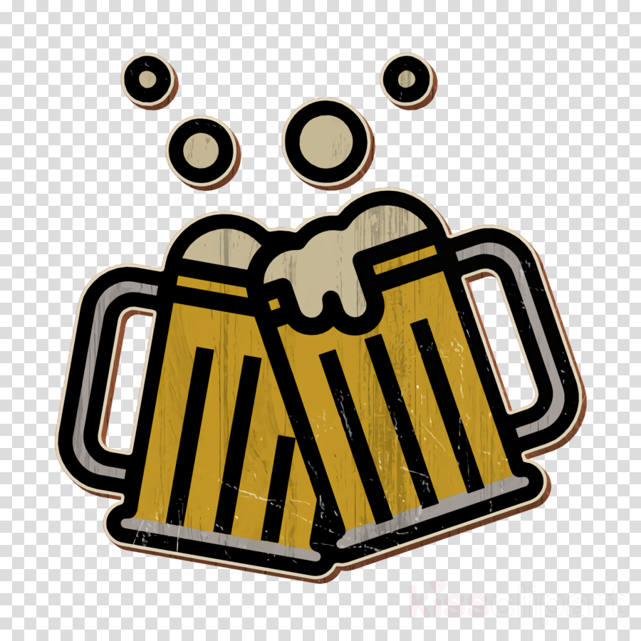 Beer icon Cheers icon clipart.