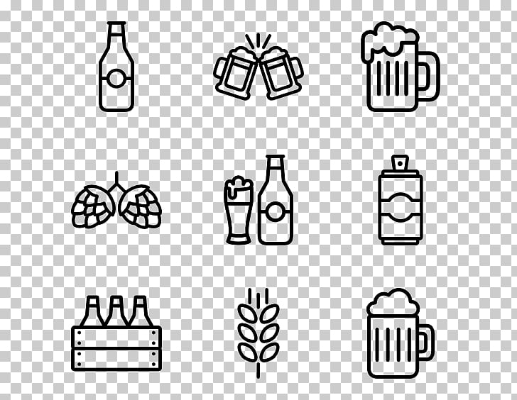 Computer Icons Icon design , Beer pack PNG clipart.