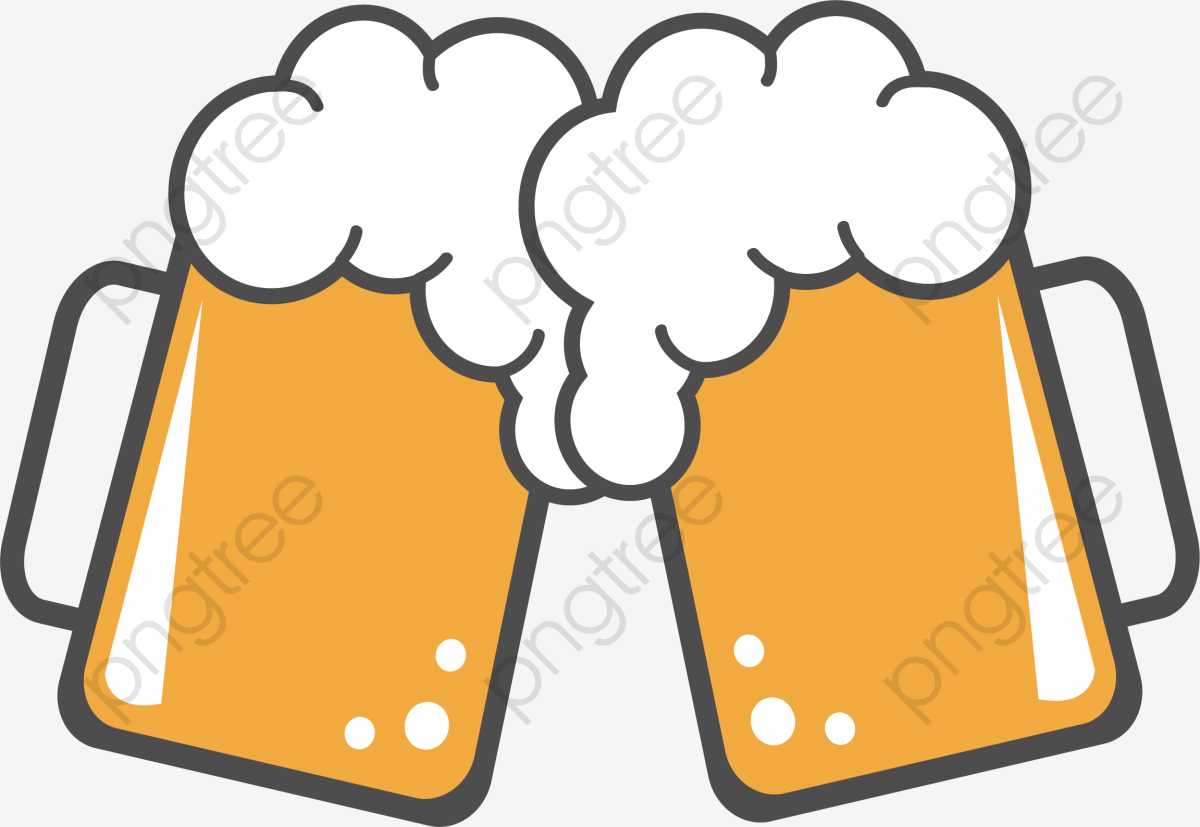 The Full Glass Of Beer Icon, Celebrate, A Toast, Bar PNG and Vector.