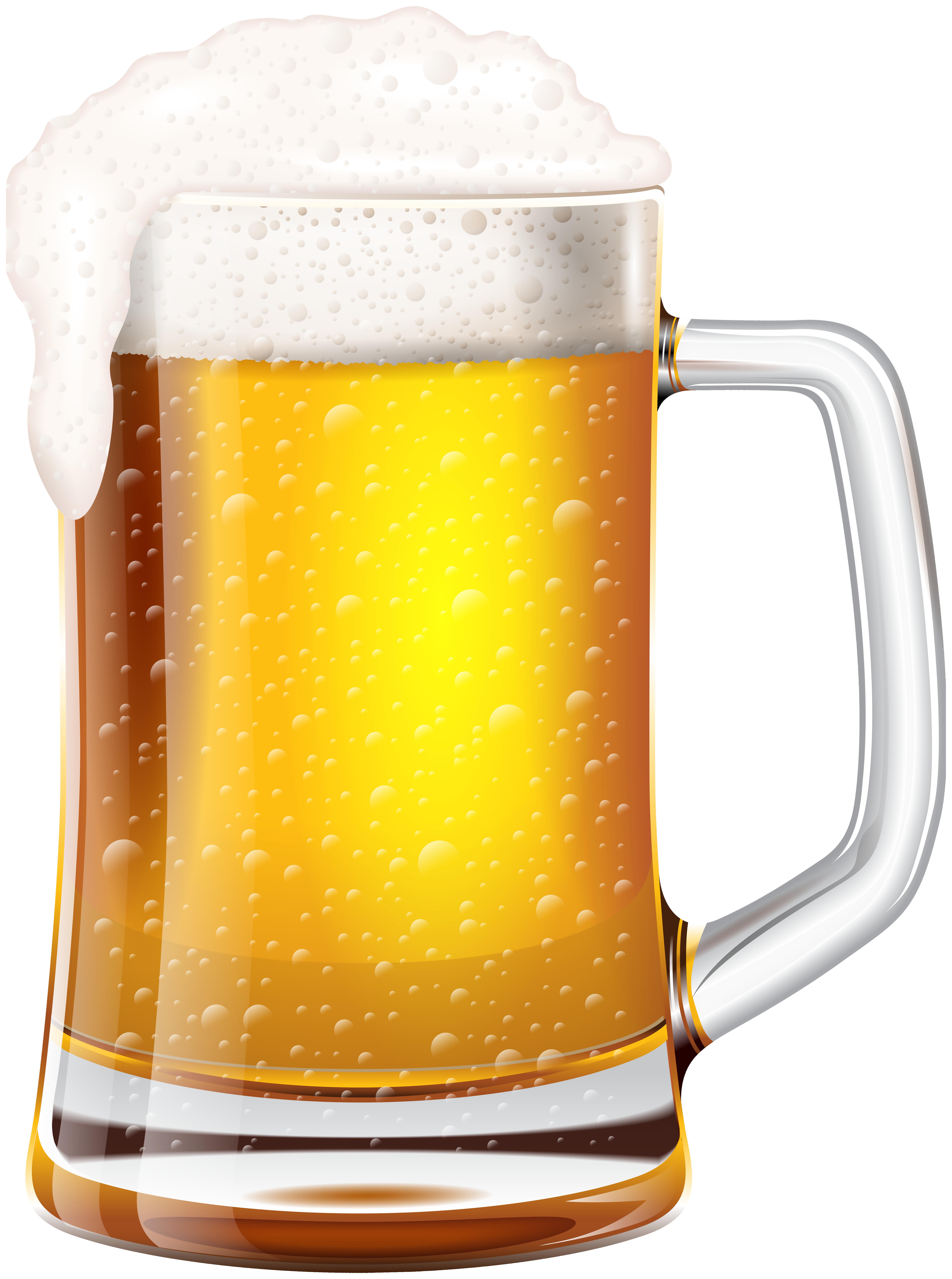 Beer Mug Clip Art Image.
