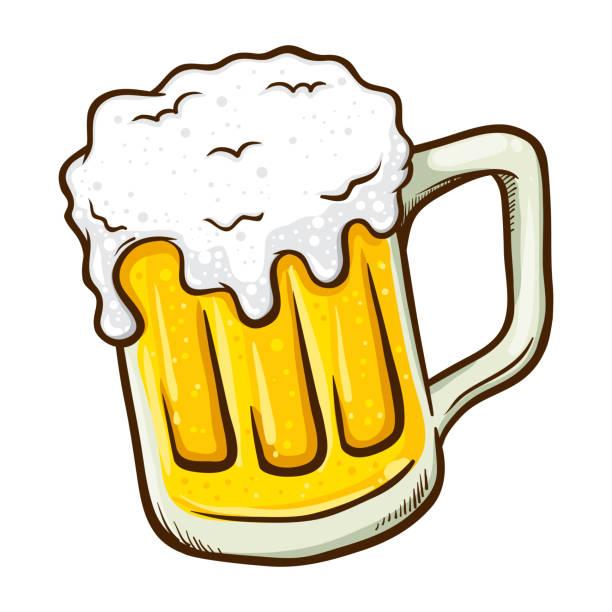 Best Beer Mug Cartoons Illustrations, Royalty.