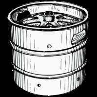 Beer Keg.