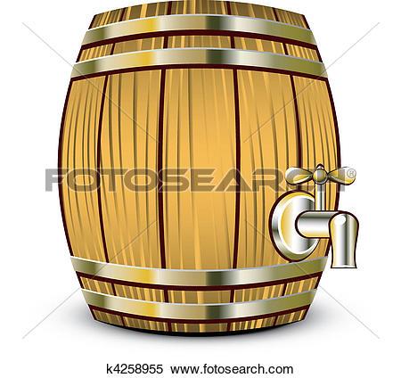 Drawing of Beer Keg k0508283.