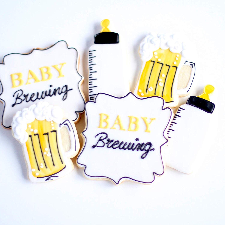 Amazon.com : ½ Dz. Beer Baby Brewing Cookie Set! A Toast.