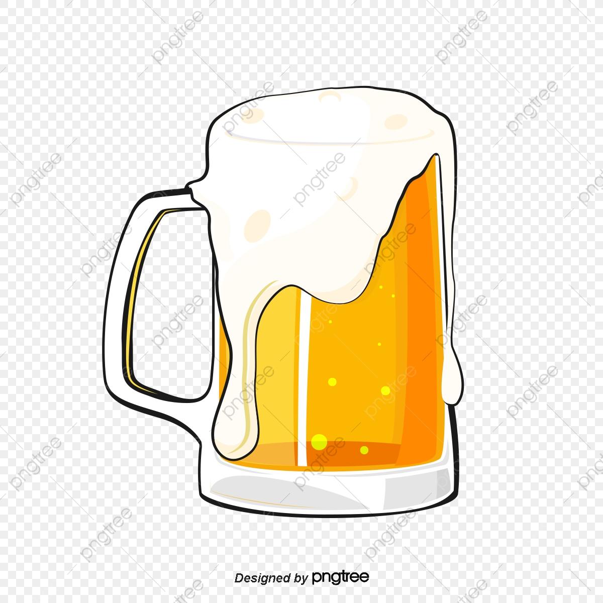Beer Mug, Beer Clipart, Mug Clipart, Beer PNG Transparent Clipart.