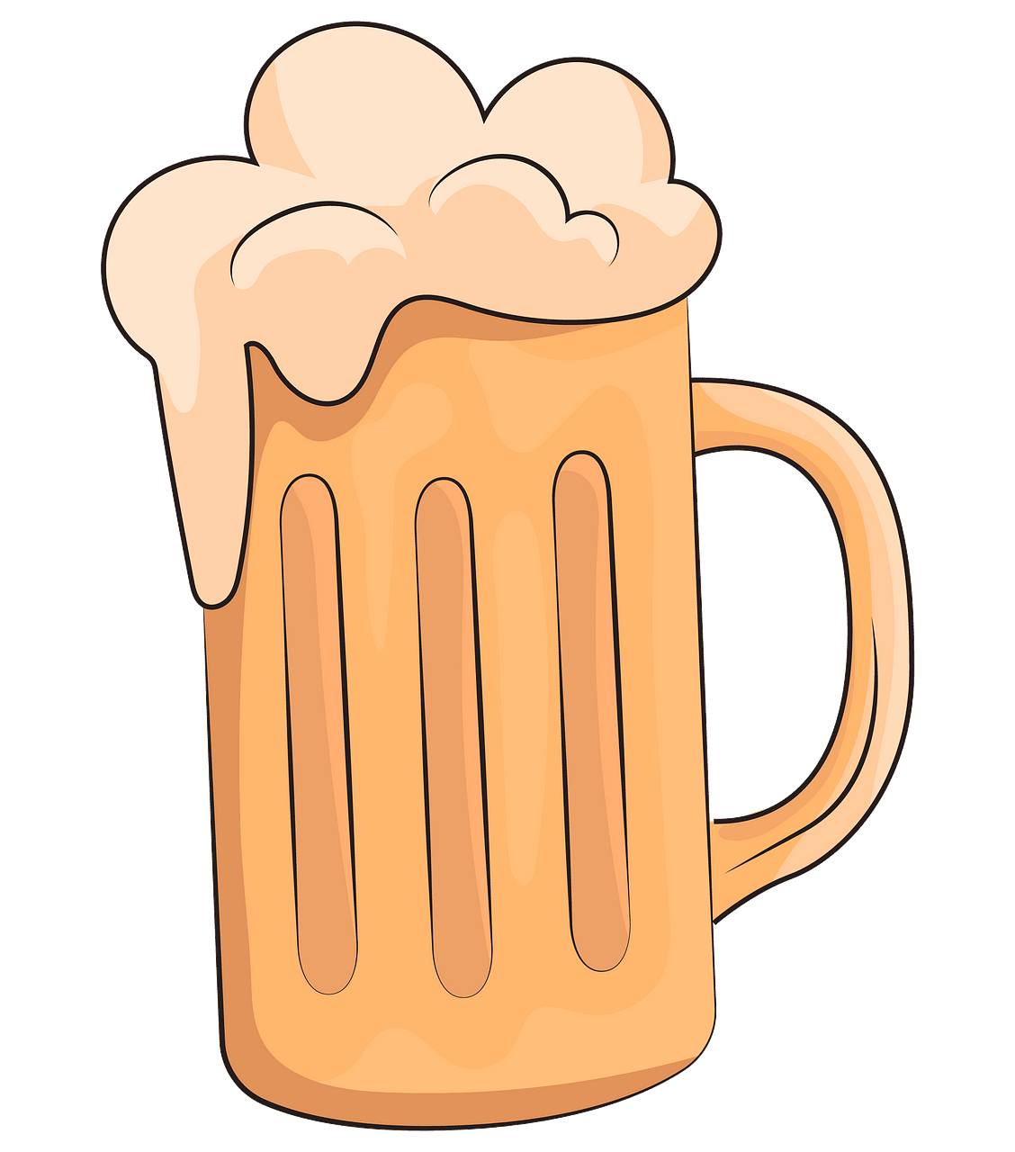 Beer mug clipart. Free download..
