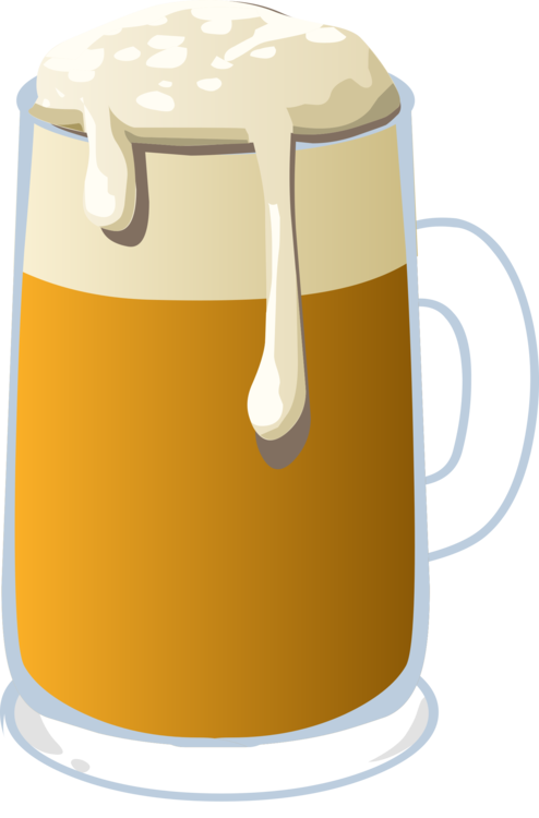 Pint Us,Cup,Beer Glass Vector Clipart.