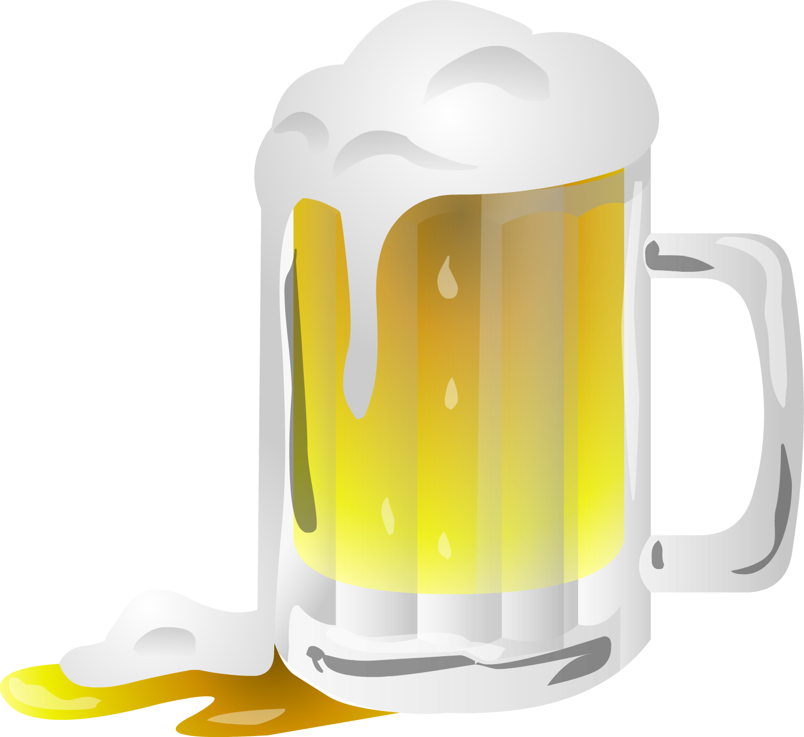Beer mug clip art free vector in open office drawing svg.