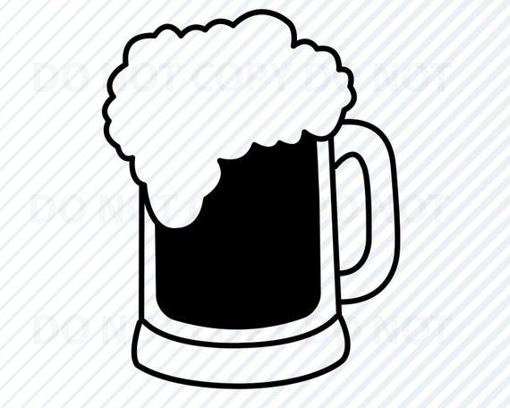 Beer #1 SVG Files for Cricut.
