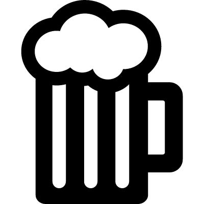 Images about beer mugs on vector icons cliparts.