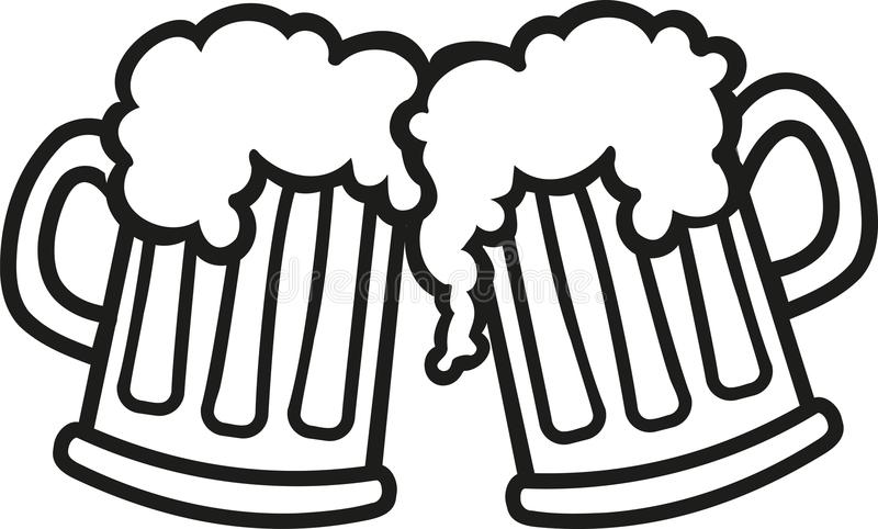 Beer mug clipart black and white 3 » Clipart Station.