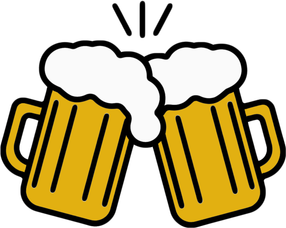 Beer Mug Vector By Checonx Clipart.