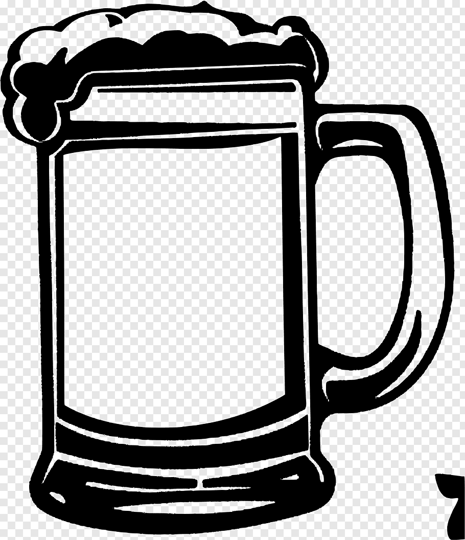 Beer Glasses Root beer Mug, beer free png.