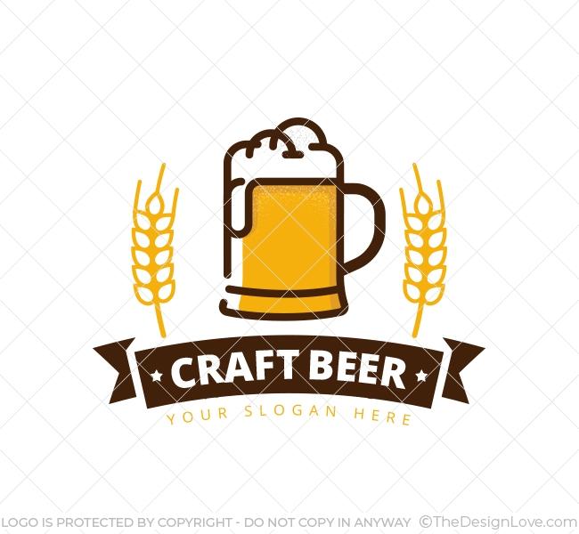 Beer Mug Logo & Business Card Template.