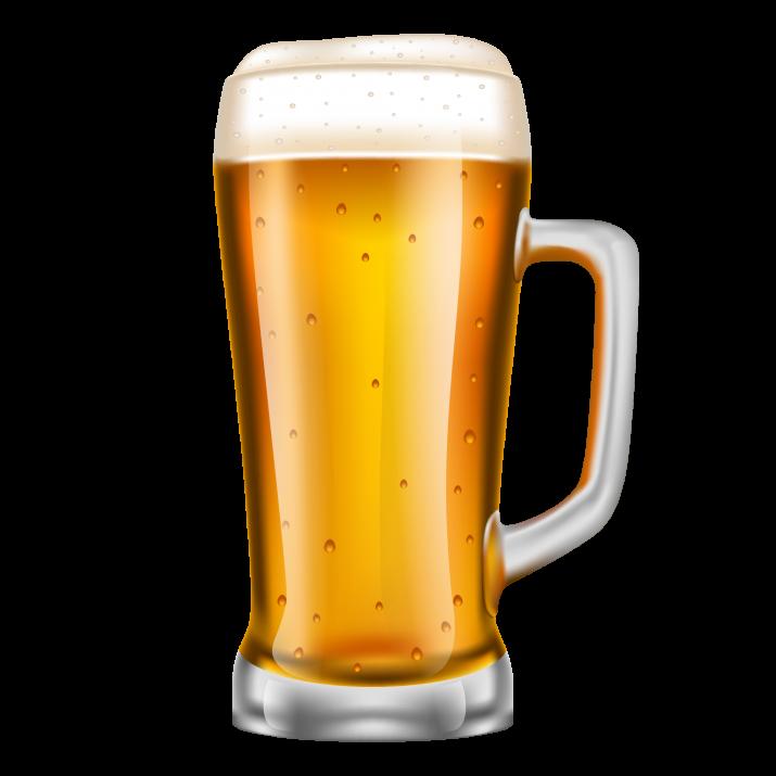 Beer Mug Transparent PNG.
