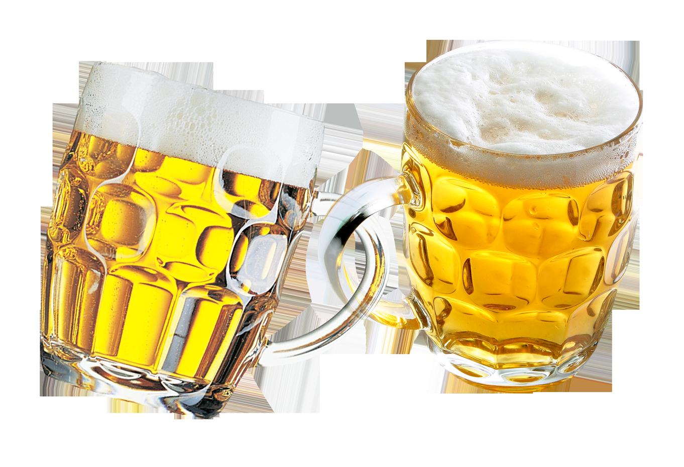 Beer Mug PNG Transparent Image.