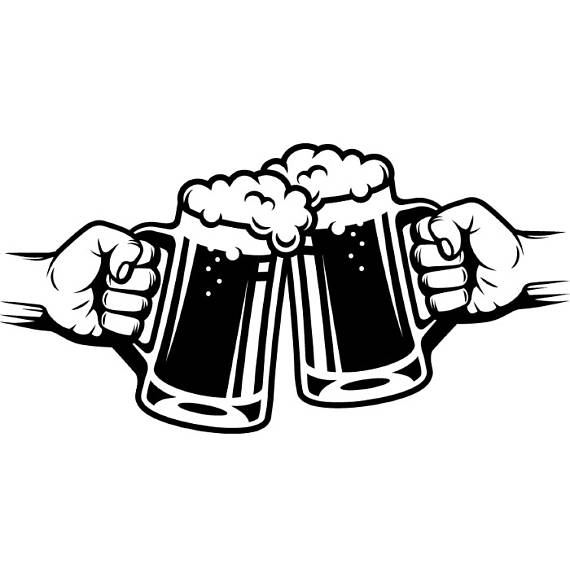 Beer Logo #5 Mug Glass Pub Bar Tavern Bartender Brew Brewery Cheers.