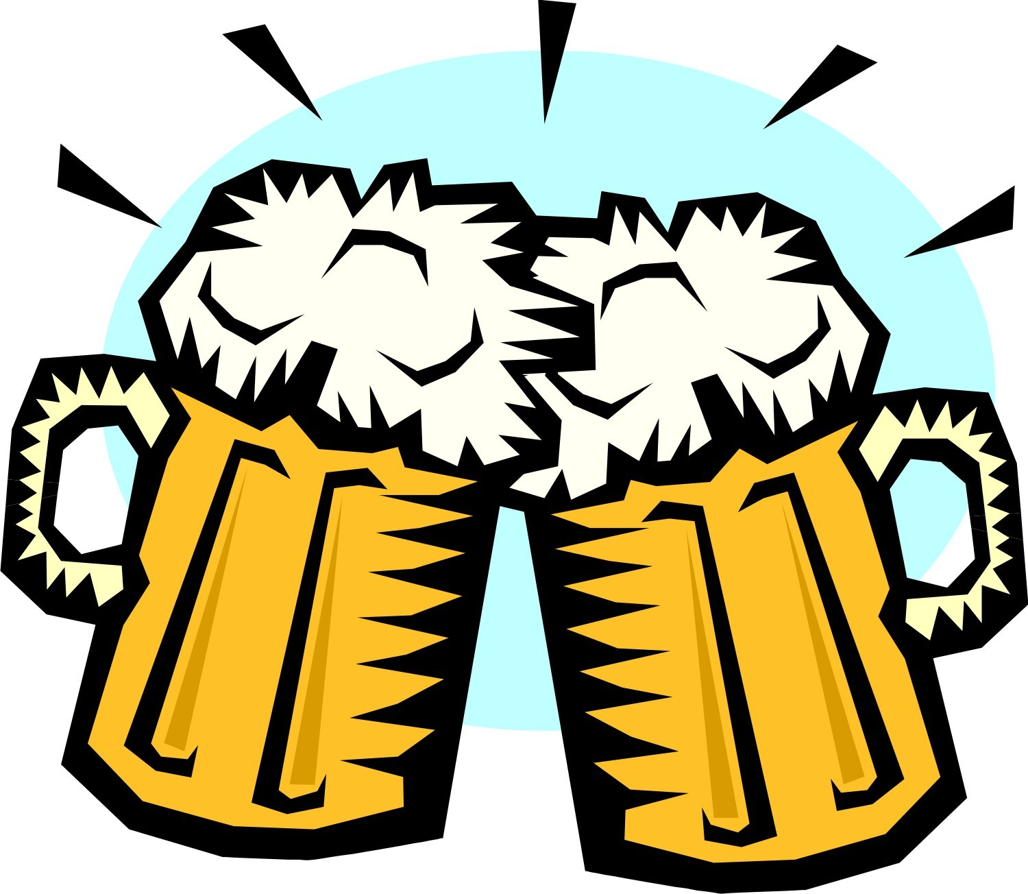Beer mugs cheers clipart 4 » Clipart Portal.