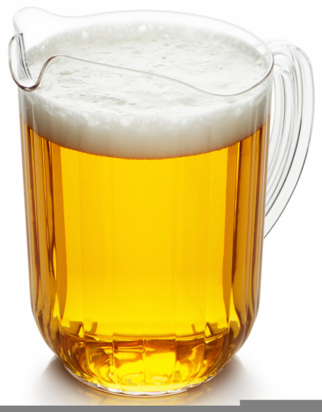 Clipart Pitcher Of Beer.