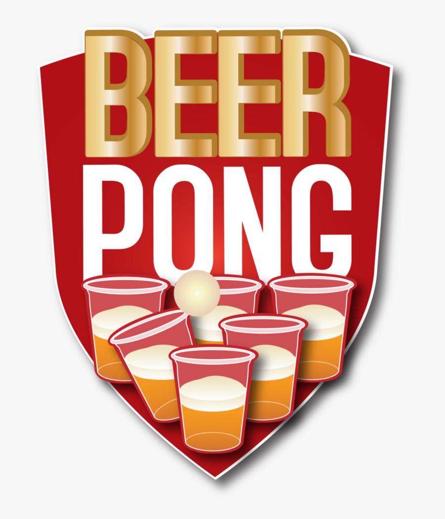 Beer Pong Vector.