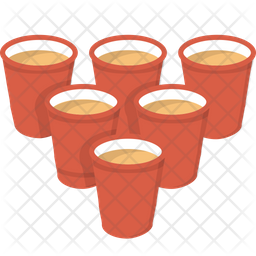 Beer Pong Icon.