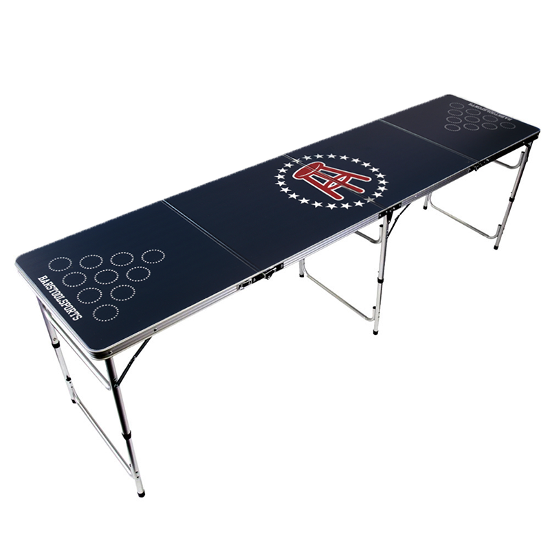 Barstool Beer Pong Table.