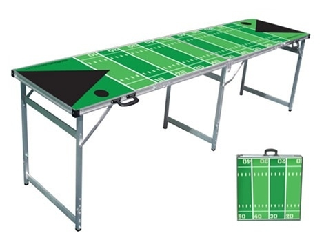 High Quality 8ft ProBowl Football Beer Pong Table.