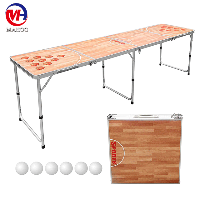 Beer Pong Table,Customized Beer Die Tables With Printing,Factory Beer Pong  Table.