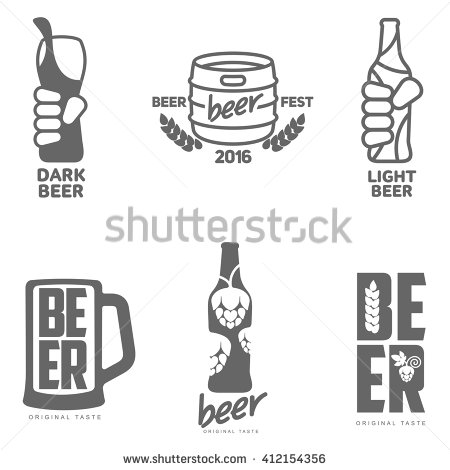 Beer Font Stock Photos, Royalty.