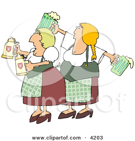 Funny Lemonade Stand Operated by Children Clipart Illustration by.