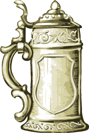 Beer Stein Clip Art, Vector Images & Illustrations.