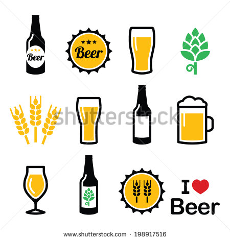 Beer Glass Stock Images, Royalty.