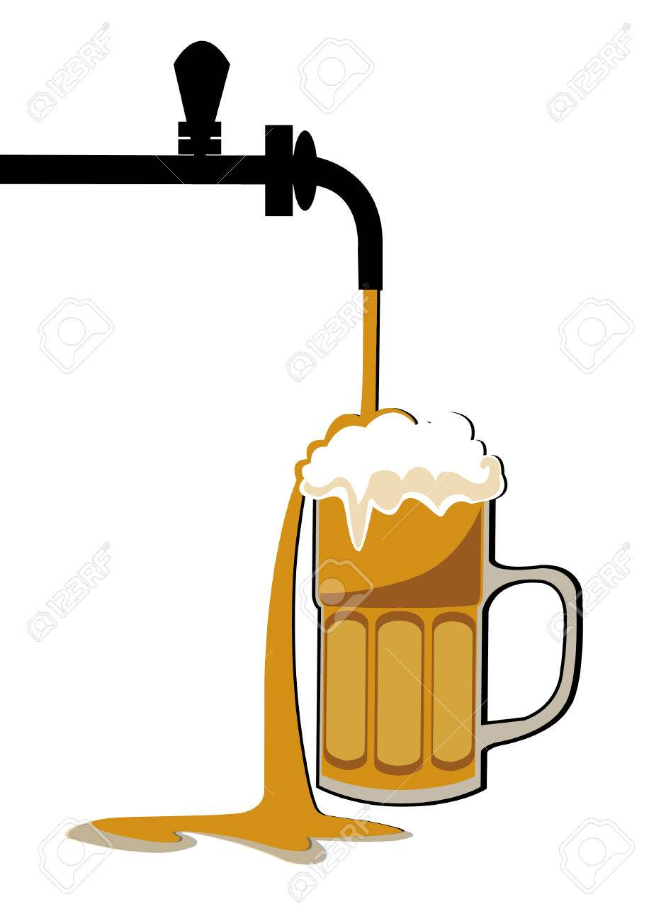 Beer tap clipart 5 » Clipart Station.