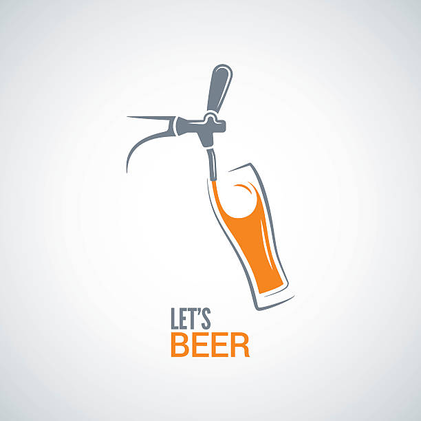 Best Beer Tap Illustrations, Royalty.
