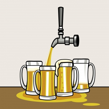 Beer Tap Png, Vector, PSD, and Clipart With Transparent Background.