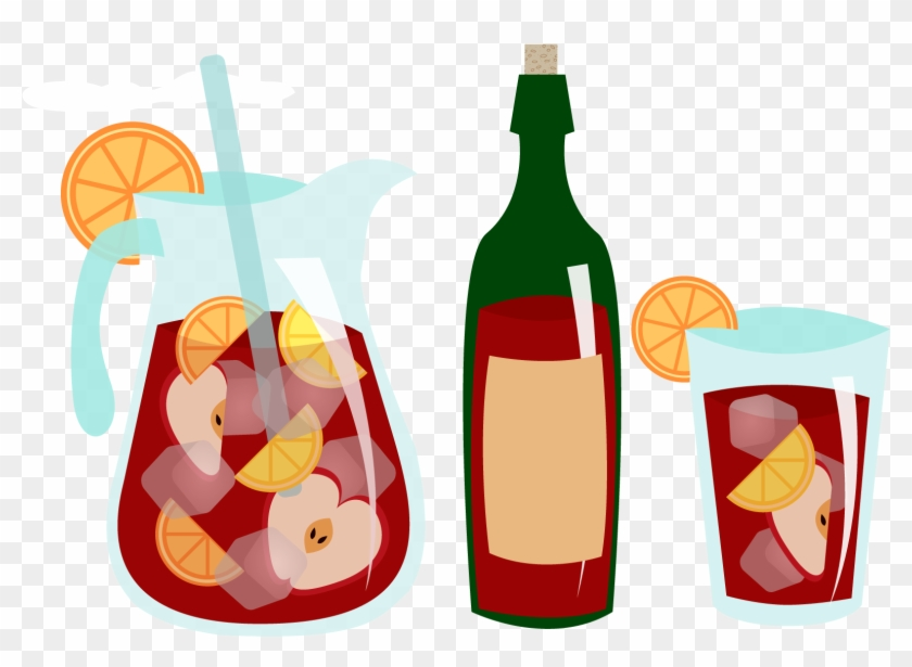 Sangria Clipart Beer Wine.