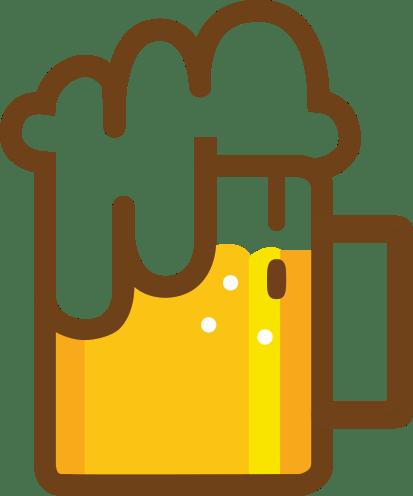 Beer Pint Clipart transparent PNG.
