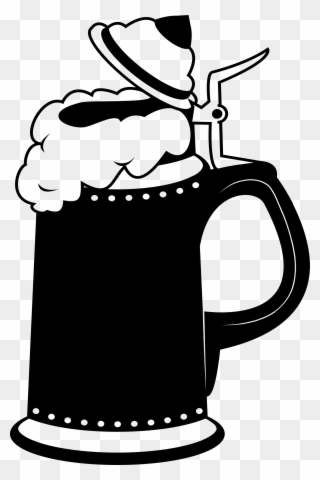 Free PNG Beer Stein Clip Art Download.