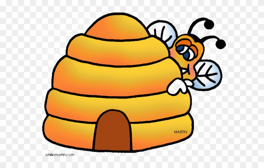 Bee Hive Clipart Transparent.
