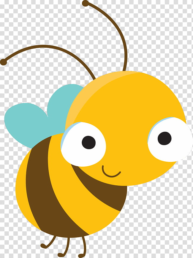 Cartoon Baby Bird, Bee, Infant, Child, Animation, Bib, Honey.