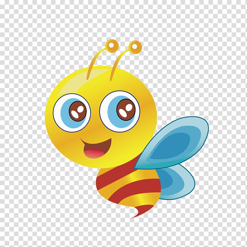 Bee Butterfly , 51 labor bee transparent background PNG.