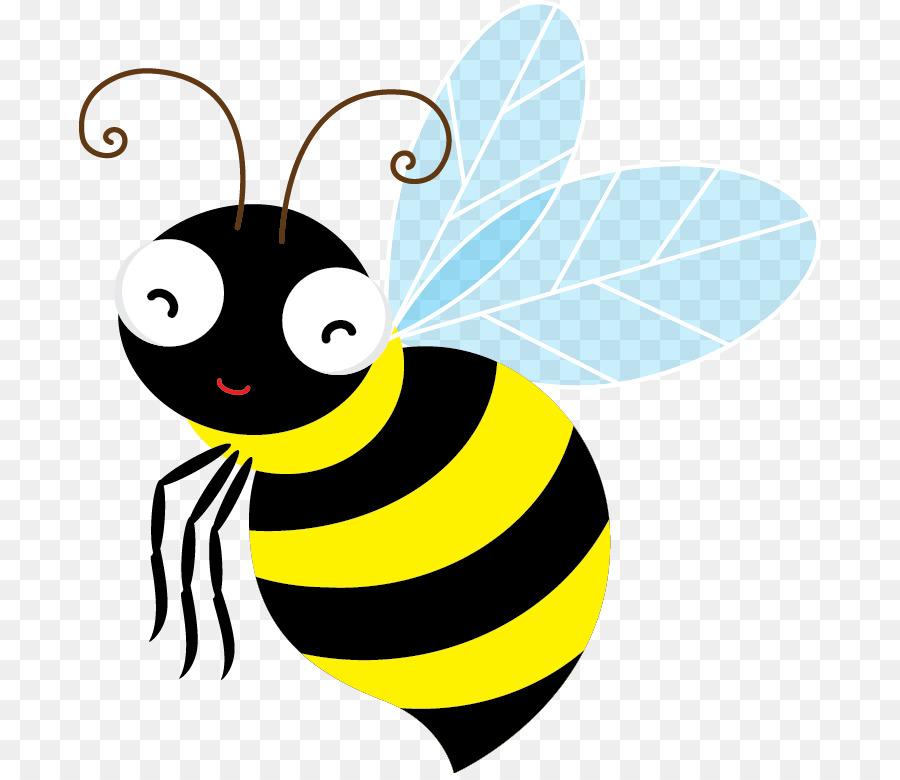 Cartoon Bee clipart.