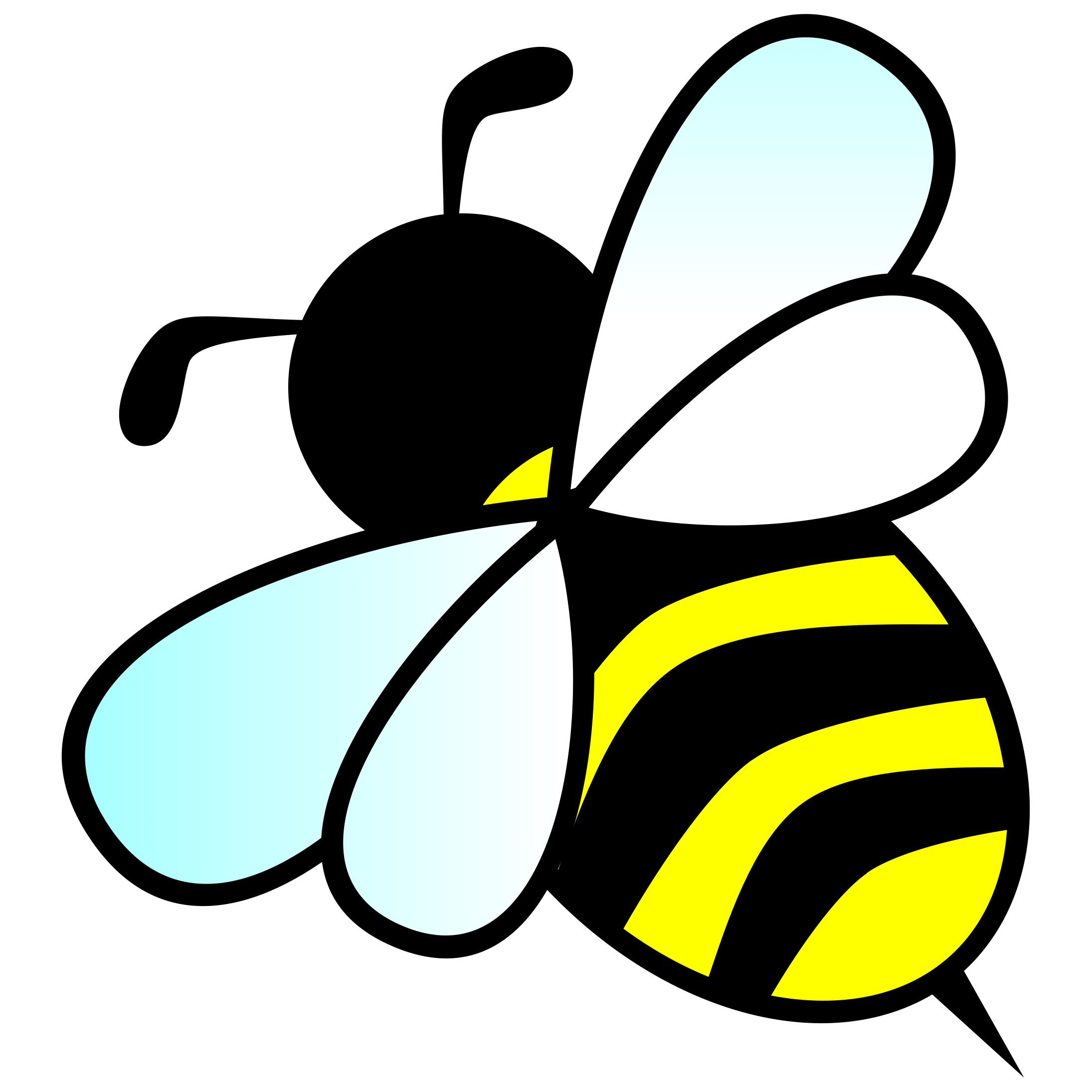 Bees Clipart.