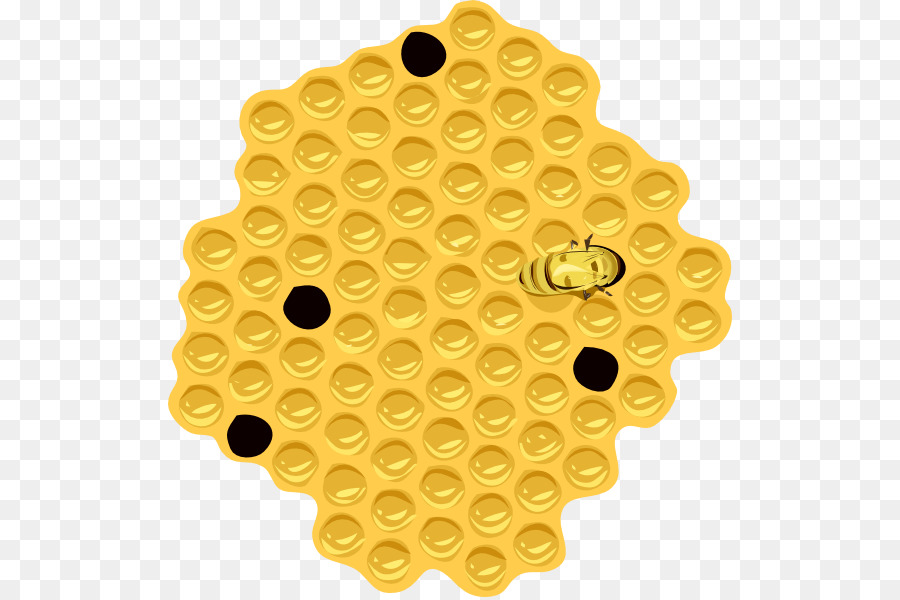 Bee Background clipart.