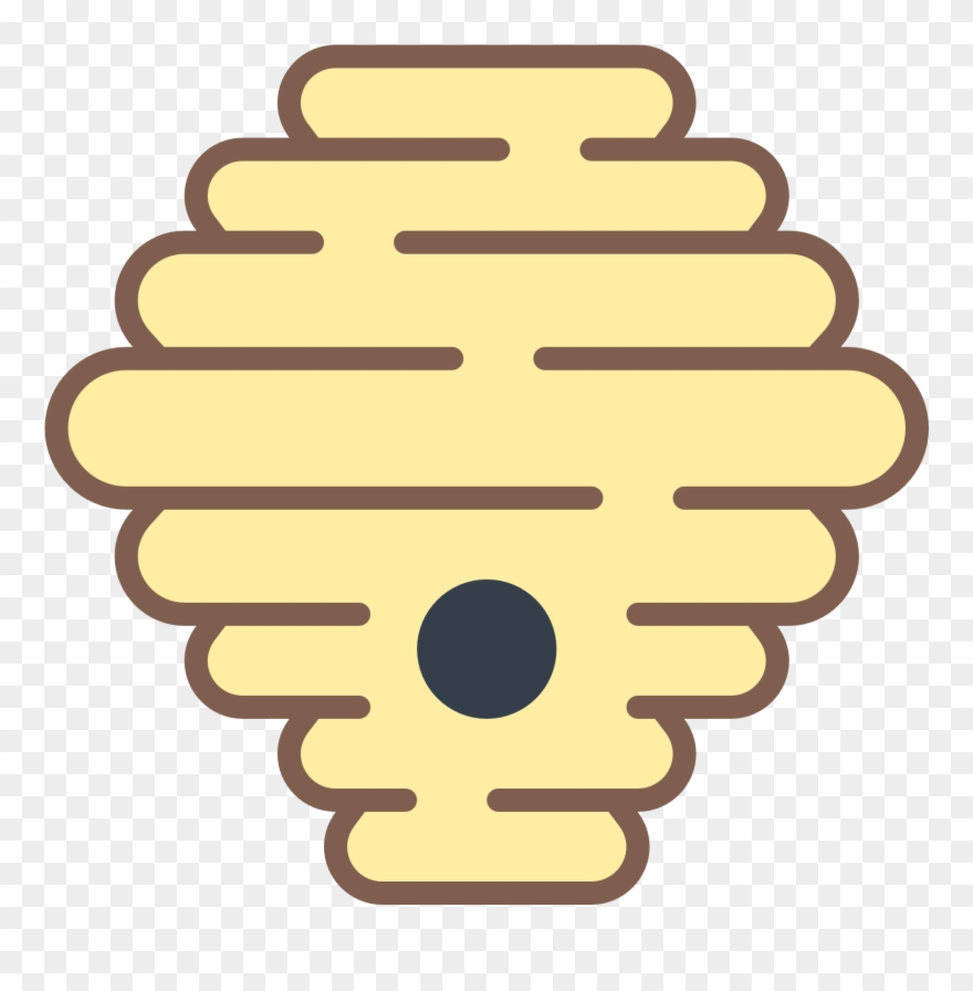 Bee Hive Clipart Hornets Nest.