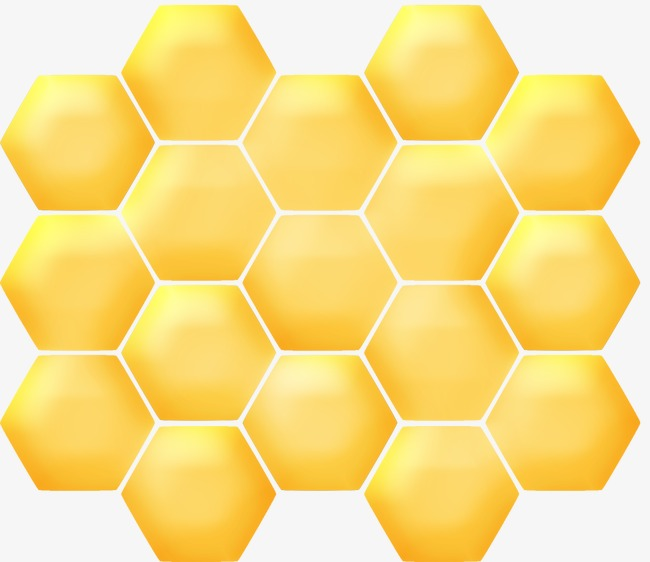 Honeycomb, Bee, Family, Nest PNG Image A #79352.