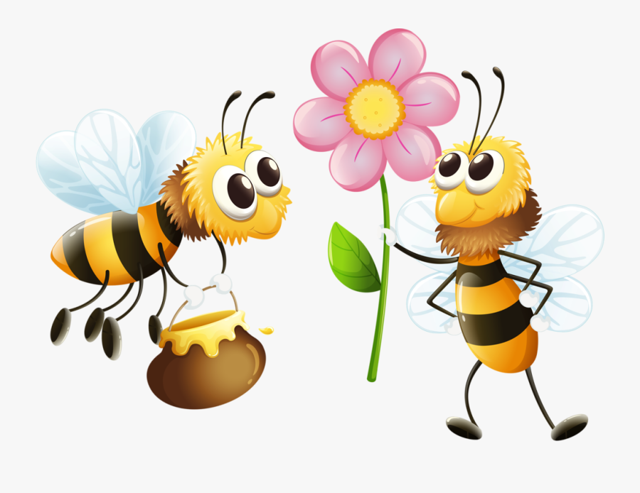 Transparent Bee Clipart.