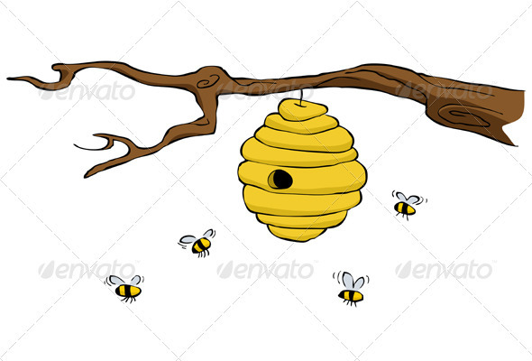 Bees Tree Clipart 20 Free Cliparts Download Images On